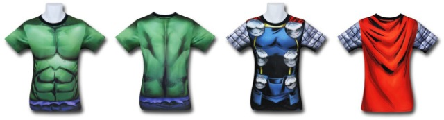 Hulk and Thor Gym Shirts