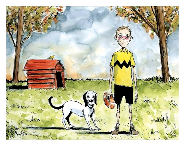 Peanuts A Tribute to Charles M. Schulz Jeff Lemire